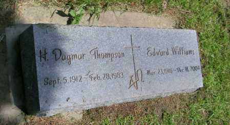 THOMPSON, H DAGMAR - Lincoln County, South Dakota | H DAGMAR THOMPSON - South Dakota Gravestone Photos