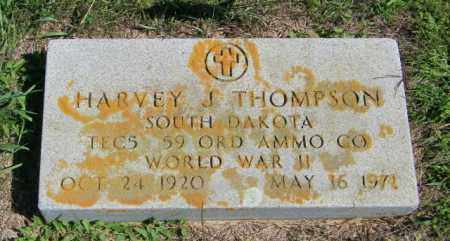 THOMPSON, HARVEY J - Lincoln County, South Dakota | HARVEY J THOMPSON - South Dakota Gravestone Photos