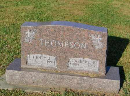 NAEVE THOMPSON, LAVERNE E - Lincoln County, South Dakota | LAVERNE E NAEVE THOMPSON - South Dakota Gravestone Photos