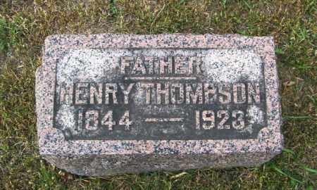 THOMPSON, HENRY - Lincoln County, South Dakota | HENRY THOMPSON - South Dakota Gravestone Photos