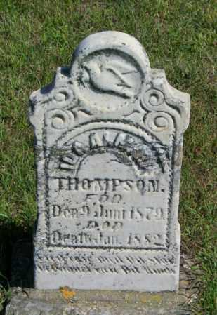 THOMPSON, IDA - Lincoln County, South Dakota | IDA THOMPSON - South Dakota Gravestone Photos