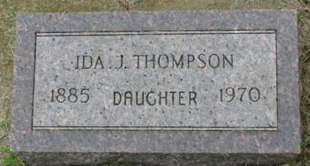 THOMPSON, IDA J. - Lincoln County, South Dakota | IDA J. THOMPSON - South Dakota Gravestone Photos