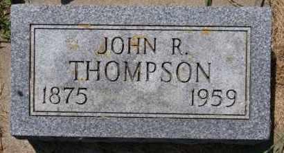 THOMPSON, JOHN R - Lincoln County, South Dakota   JOHN R THOMPSON - South Dakota Gravestone Photos