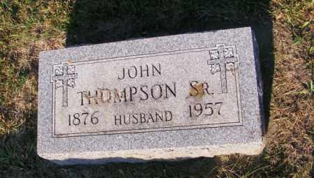 THOMPSON, JOHN SR - Lincoln County, South Dakota | JOHN SR THOMPSON - South Dakota Gravestone Photos