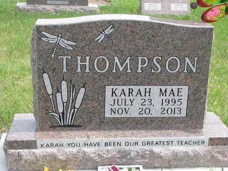 THOMPSON, KARAH MAE - Lincoln County, South Dakota | KARAH MAE THOMPSON - South Dakota Gravestone Photos