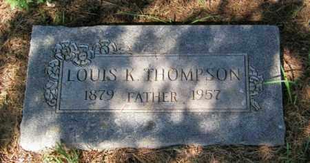THOMPSON, LOUIS K - Lincoln County, South Dakota | LOUIS K THOMPSON - South Dakota Gravestone Photos