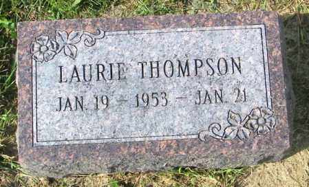 THOMPSON, LAURIE - Lincoln County, South Dakota | LAURIE THOMPSON - South Dakota Gravestone Photos