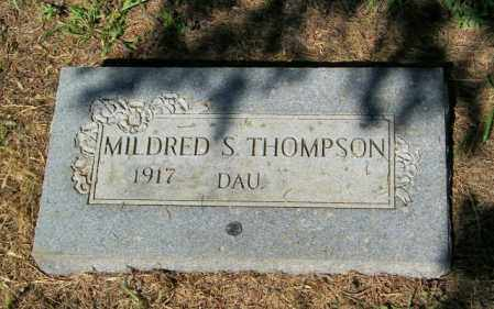 THOMPSON, MILDRED S - Lincoln County, South Dakota | MILDRED S THOMPSON - South Dakota Gravestone Photos