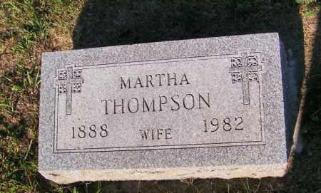 THOMPSON, MARTHA - Lincoln County, South Dakota | MARTHA THOMPSON - South Dakota Gravestone Photos