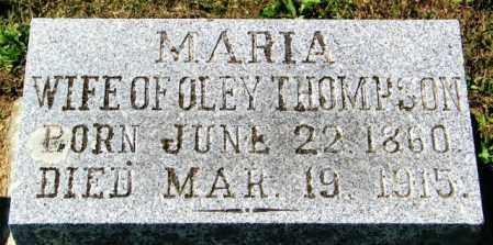 THOMPSON, MARIA - Lincoln County, South Dakota | MARIA THOMPSON - South Dakota Gravestone Photos