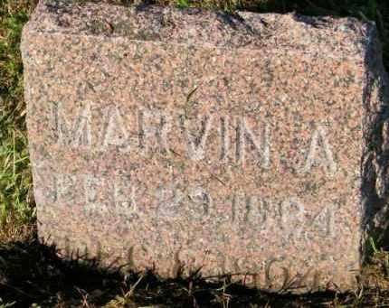 THOMPSON, MARVIN A. - Lincoln County, South Dakota   MARVIN A. THOMPSON - South Dakota Gravestone Photos