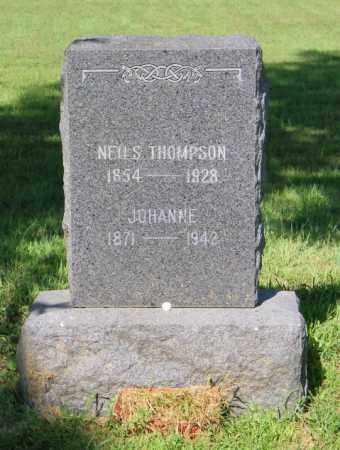 THOMPSON, JOHANNE - Lincoln County, South Dakota | JOHANNE THOMPSON - South Dakota Gravestone Photos