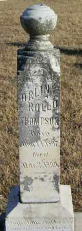 THOMPSON, ORLIN ROLLO - Lincoln County, South Dakota | ORLIN ROLLO THOMPSON - South Dakota Gravestone Photos