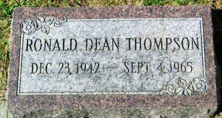THOMPSON, RONALD DEAN - Lincoln County, South Dakota | RONALD DEAN THOMPSON - South Dakota Gravestone Photos