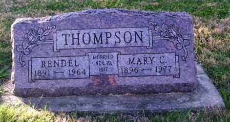 THOMPSON, MARY C. - Lincoln County, South Dakota | MARY C. THOMPSON - South Dakota Gravestone Photos