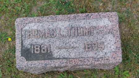 THOMPSON, THOMAS L - Lincoln County, South Dakota | THOMAS L THOMPSON - South Dakota Gravestone Photos