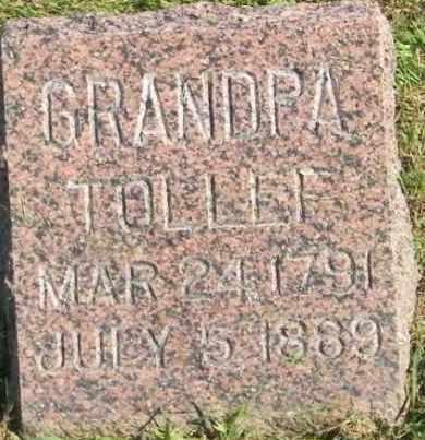 THOMPSON, TOLLEF - Lincoln County, South Dakota   TOLLEF THOMPSON - South Dakota Gravestone Photos
