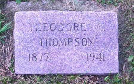THOMPSON, THEODORE - Lincoln County, South Dakota | THEODORE THOMPSON - South Dakota Gravestone Photos