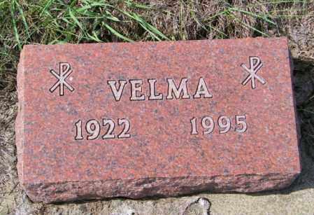 THOMPSON, VELMA - Lincoln County, South Dakota | VELMA THOMPSON - South Dakota Gravestone Photos