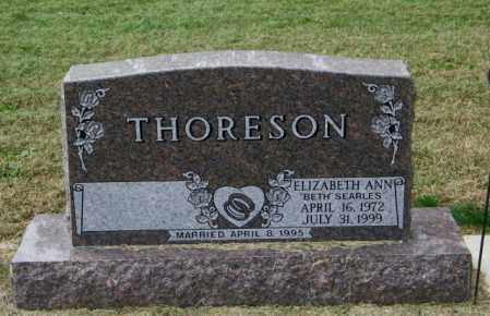 SEARLES THORESON, ELIZABETH ANN - Lincoln County, South Dakota | ELIZABETH ANN SEARLES THORESON - South Dakota Gravestone Photos