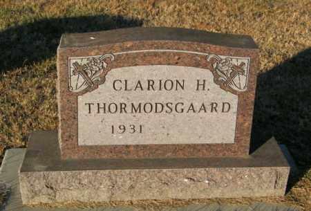 THORMODSGAARD, CLARION H - Lincoln County, South Dakota   CLARION H THORMODSGAARD - South Dakota Gravestone Photos