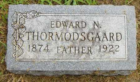 THORMODSGAARD, EDWARD N - Lincoln County, South Dakota | EDWARD N THORMODSGAARD - South Dakota Gravestone Photos
