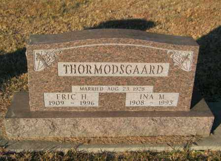 THROMODSGAARD, INA M - Lincoln County, South Dakota   INA M THROMODSGAARD - South Dakota Gravestone Photos