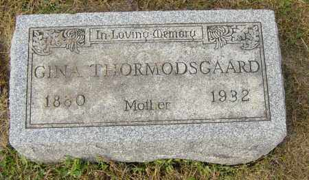 THORMODSGAARD, GINA - Lincoln County, South Dakota | GINA THORMODSGAARD - South Dakota Gravestone Photos