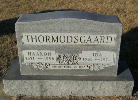 THORMODSGAARD, HAAKON - Lincoln County, South Dakota | HAAKON THORMODSGAARD - South Dakota Gravestone Photos