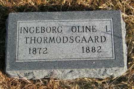 THORMODSGAARD, INGEBORG OLINE L - Lincoln County, South Dakota | INGEBORG OLINE L THORMODSGAARD - South Dakota Gravestone Photos