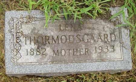 THORMODSGAARD, LENA - Lincoln County, South Dakota | LENA THORMODSGAARD - South Dakota Gravestone Photos