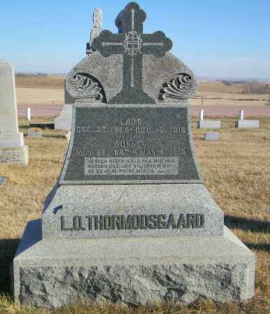 THORMODSGAARD, SONNEV - Lincoln County, South Dakota | SONNEV THORMODSGAARD - South Dakota Gravestone Photos