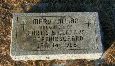 THORMODSGAARD, MARY LILLIAN - Lincoln County, South Dakota | MARY LILLIAN THORMODSGAARD - South Dakota Gravestone Photos