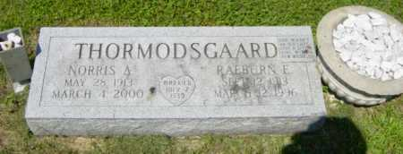 THORMODSGAARD, RAEBURN E - Lincoln County, South Dakota | RAEBURN E THORMODSGAARD - South Dakota Gravestone Photos