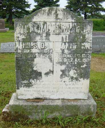 THORMODSGAARD, ANNE K - Lincoln County, South Dakota   ANNE K THORMODSGAARD - South Dakota Gravestone Photos