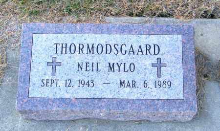 THORMODSGAARD, NEIL MYLO - Lincoln County, South Dakota | NEIL MYLO THORMODSGAARD - South Dakota Gravestone Photos