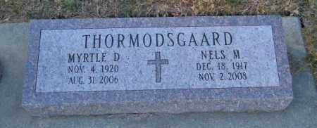 THORMODSGAARD, MYRTLE D - Lincoln County, South Dakota | MYRTLE D THORMODSGAARD - South Dakota Gravestone Photos
