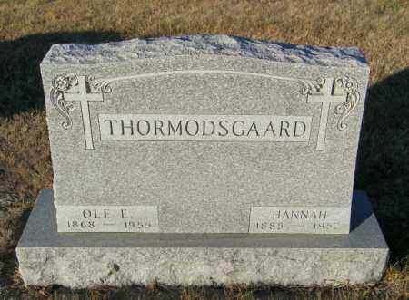 THORMODSGAARD, HANNAH - Lincoln County, South Dakota | HANNAH THORMODSGAARD - South Dakota Gravestone Photos