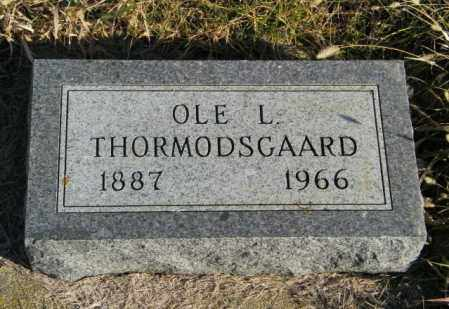 THORMODSGAARD, OLE L - Lincoln County, South Dakota | OLE L THORMODSGAARD - South Dakota Gravestone Photos