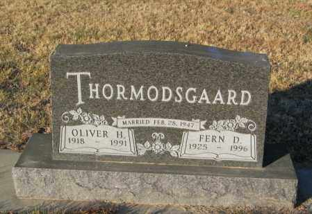THORMODSGAARD, OLIVER H - Lincoln County, South Dakota | OLIVER H THORMODSGAARD - South Dakota Gravestone Photos
