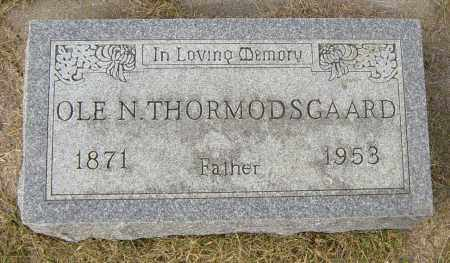 THORMODSGAARD, OLE N - Lincoln County, South Dakota | OLE N THORMODSGAARD - South Dakota Gravestone Photos