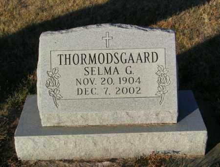 THORMODSGAARD, SELMA G - Lincoln County, South Dakota | SELMA G THORMODSGAARD - South Dakota Gravestone Photos
