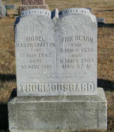 THORMODSGARD, ERIK OLSON - Lincoln County, South Dakota | ERIK OLSON THORMODSGARD - South Dakota Gravestone Photos