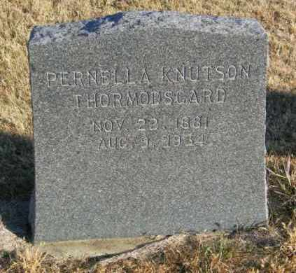 KNUTSON THORMODSGARD, PERNELLA - Lincoln County, South Dakota | PERNELLA KNUTSON THORMODSGARD - South Dakota Gravestone Photos