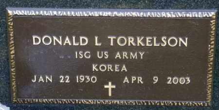 TORKELSON, DONALD L. - Lincoln County, South Dakota | DONALD L. TORKELSON - South Dakota Gravestone Photos