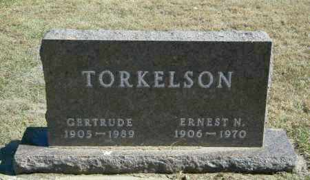 TORKELSON, GERTRUDE - Lincoln County, South Dakota | GERTRUDE TORKELSON - South Dakota Gravestone Photos