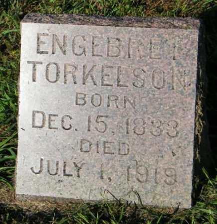 TORKELSON, ENGEBRET - Lincoln County, South Dakota | ENGEBRET TORKELSON - South Dakota Gravestone Photos
