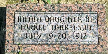 TORKELSON, INFANT DAUGHTER - Lincoln County, South Dakota | INFANT DAUGHTER TORKELSON - South Dakota Gravestone Photos