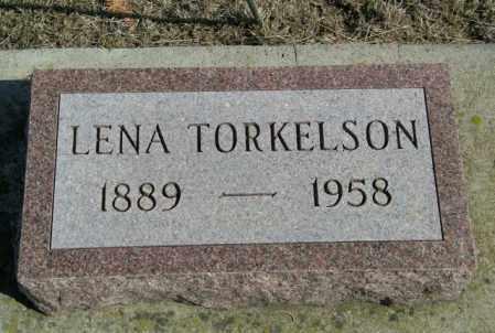 TORKELSON, LENA - Lincoln County, South Dakota | LENA TORKELSON - South Dakota Gravestone Photos
