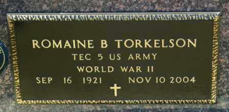 TORKELSON, ROMAINE B - Lincoln County, South Dakota | ROMAINE B TORKELSON - South Dakota Gravestone Photos